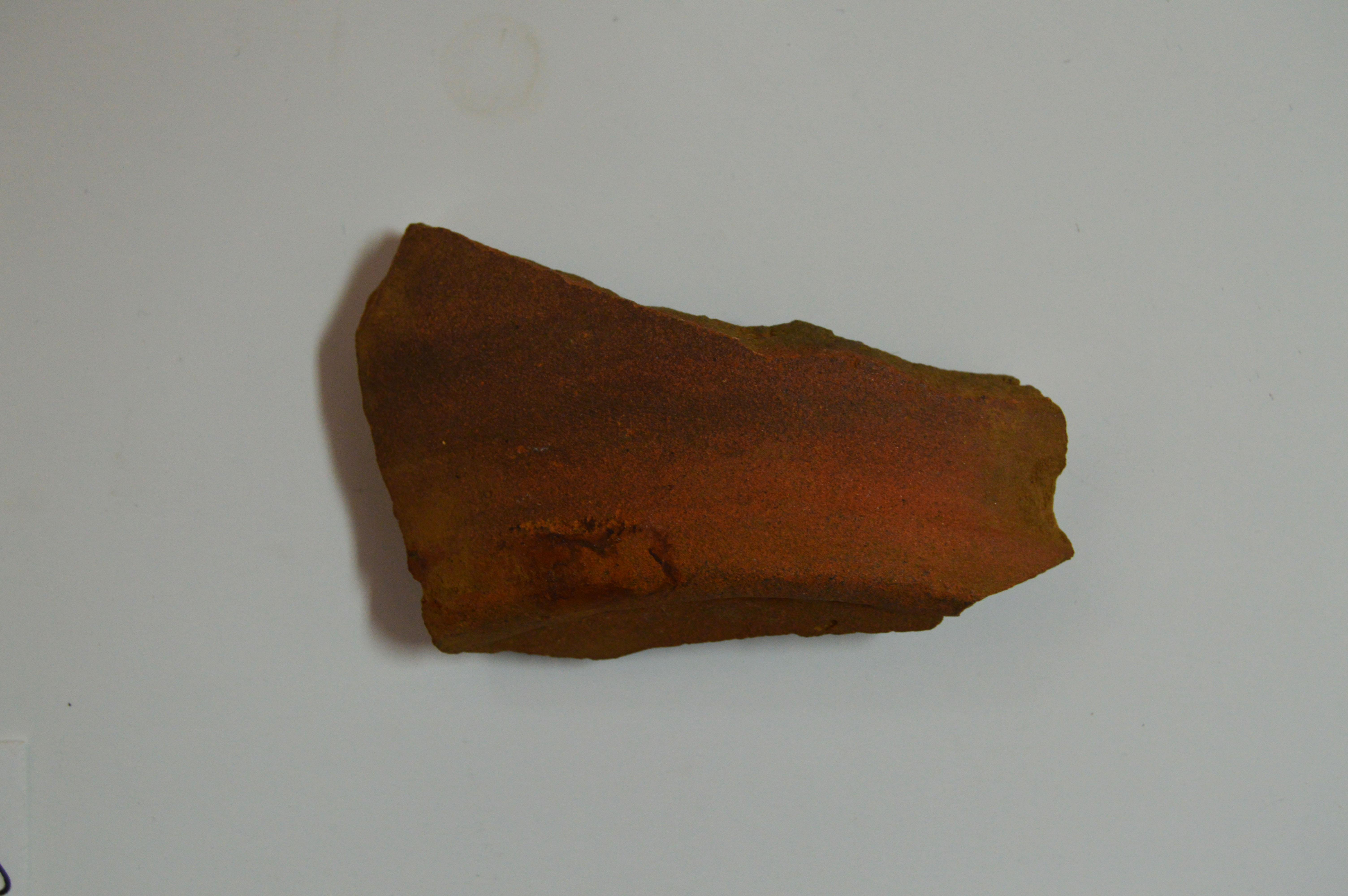 Lead Glazed Coarse Earthenware Back